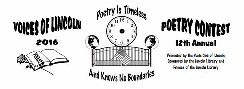 12th Annual Voices of Lincoln Poetry Contest 2016 Winner