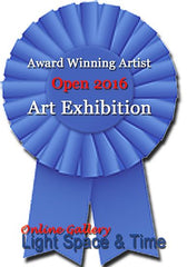 Special Recognition Award for Art Painting Ribbon 2016 Elle Smith Artist