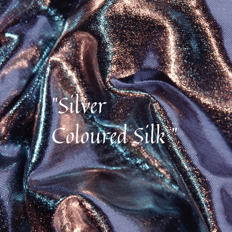 How to choose a silk scarf in Luxury Silver Coloured Silk