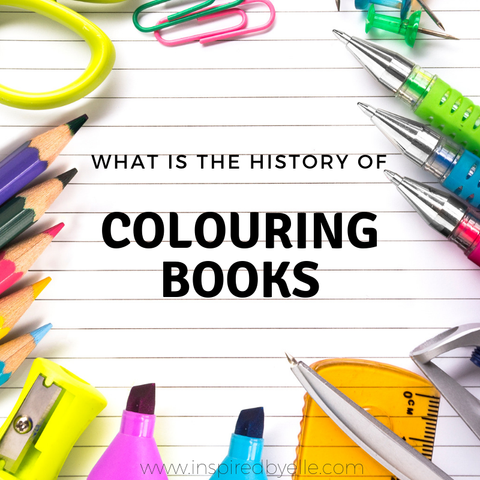 Creative Elle Blog What is the History f Colouring Books