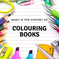 What is the History of Colouring Books by Elle Smith