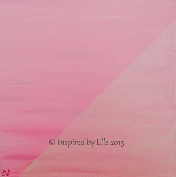 Commercial Art Painting Pink Success Oil Painting Inspired by Elle Smith Business Art