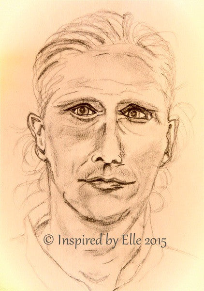 Celebrity Pencil Sketch I Guess Who Elle Smith Footballer Sportsman Pencil Portrait