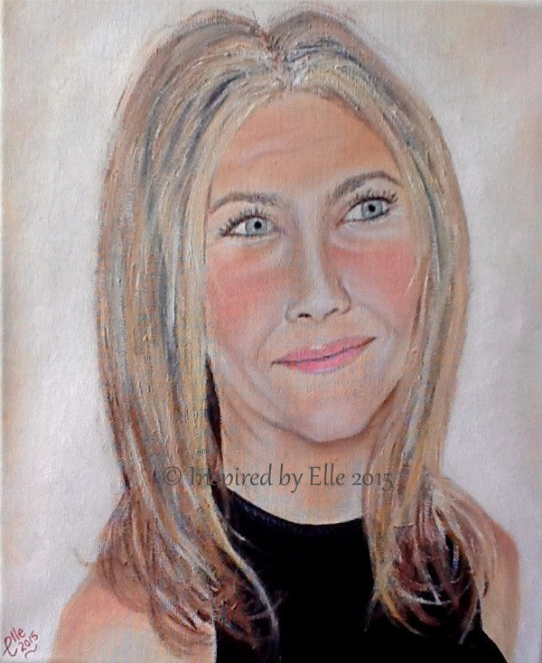 Female Portrait Painting in Oils - My Best Friend - Inspired By Elle Smith Artist