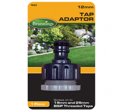 Brunnings Tap Adaptor 12mm