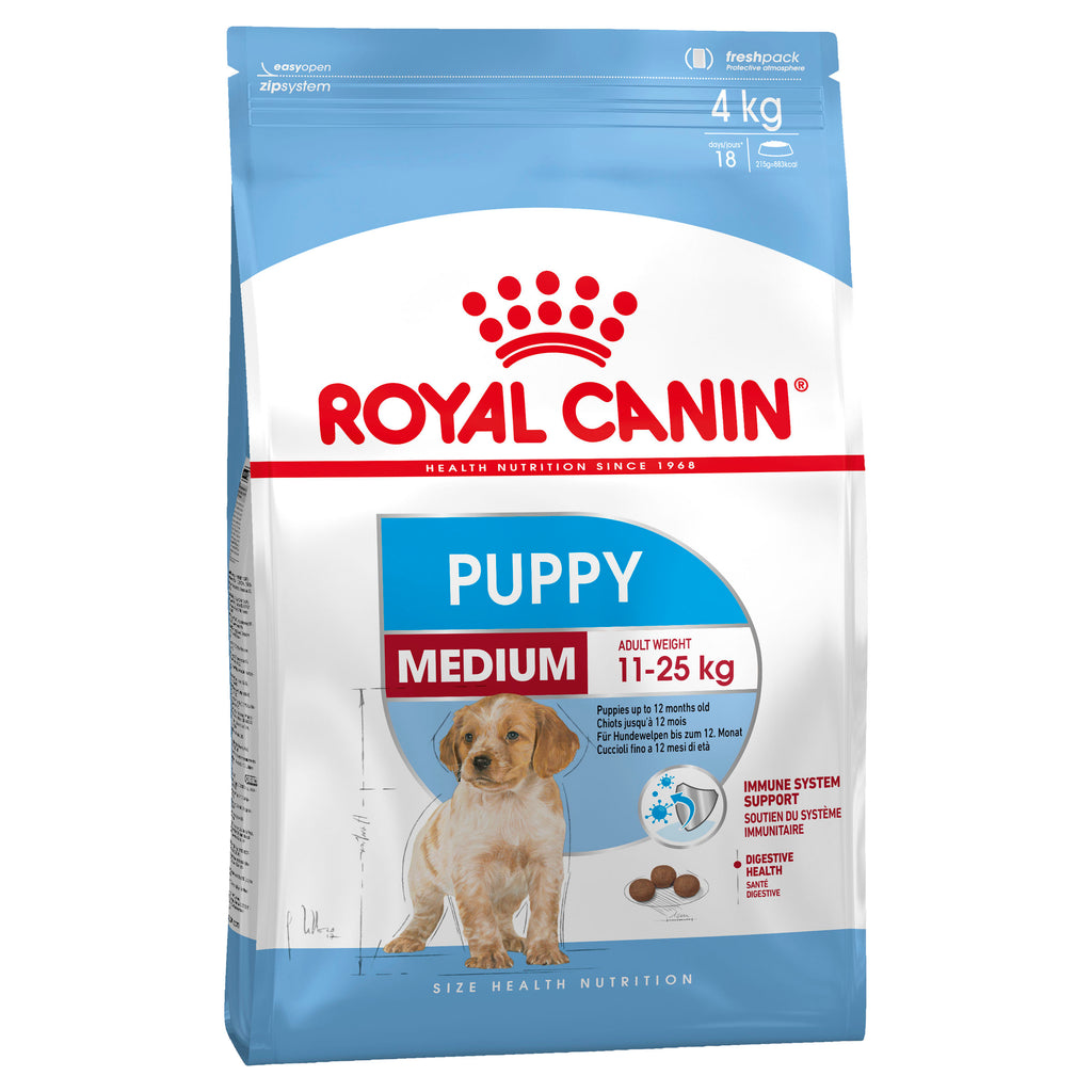 Royal Canin Medium Puppy - Dry - 4kg & 15kg