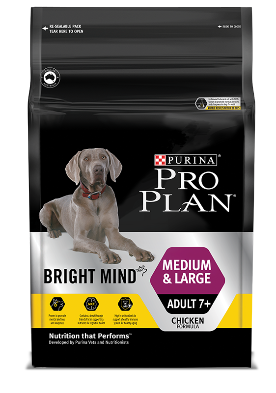 PRO PLAN® BRIGHT MIND™ MEDIUM & LARGE ADULT 7+-DRY DOG
