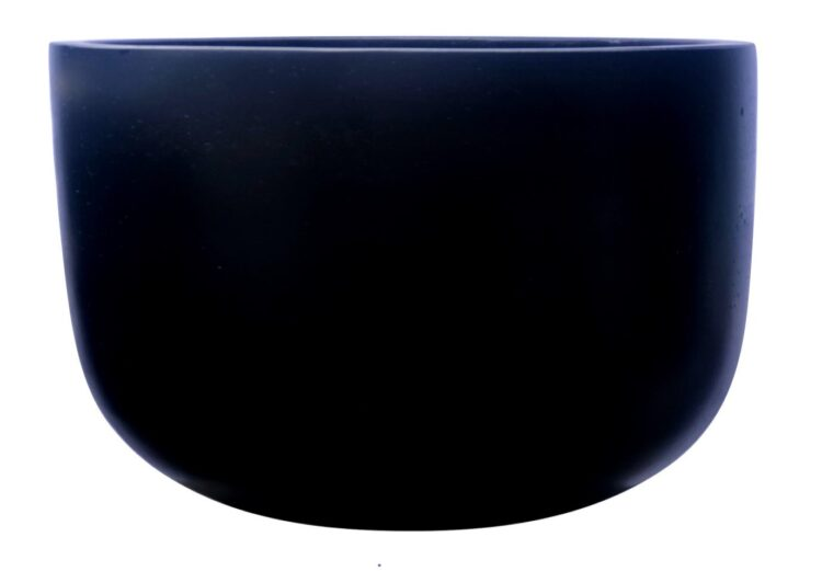 Contemporary Pot - Basin Pot - Black