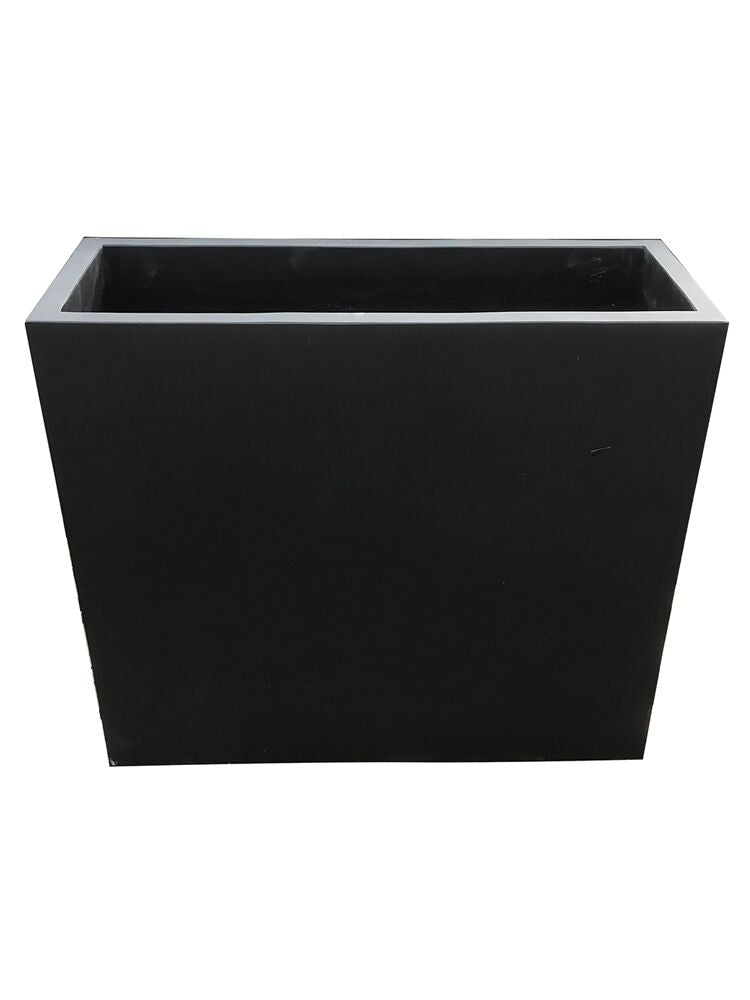 Contemporary Pot - Divider Pot - Matte Black