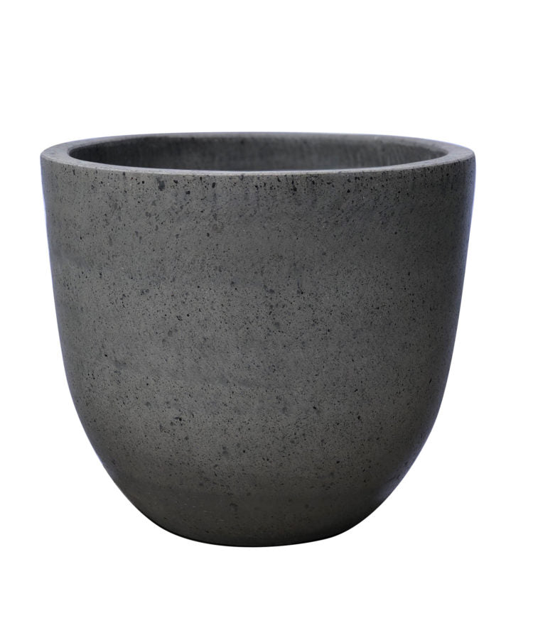 Contemporary Pot - Egg Pot - Natural - Unpainted
