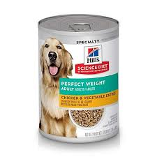 Hills Science Diet Adult Dog Wet Food - Perfect Weight Chicken & Vegetables