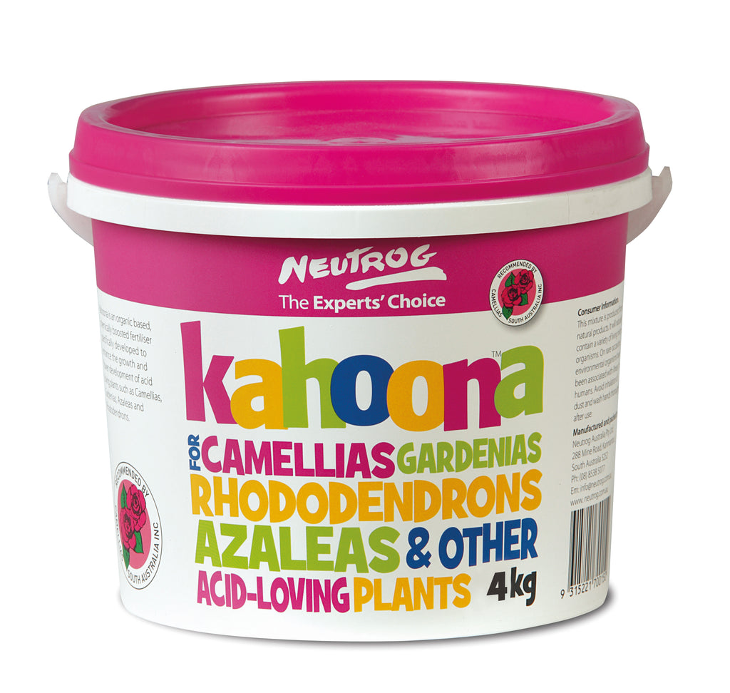 Neutrog - Kahoona for Camellias - 4 Kg