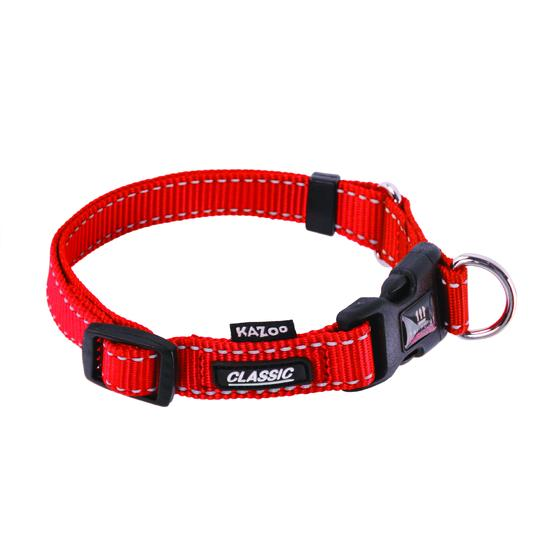 Clearance - Kazoo - Classic Adjustable Collar - Red