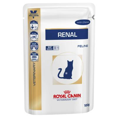 ROYAL CANIN PRESCRIPTION DIET CAT WET FOOD RENAL WITH CHICKEN (FELINE)