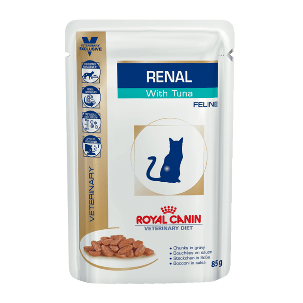 ROYAL CANIN PRESCRIPTION DIET CAT WET FOOD RENAL WITH TUNA (FELINE)