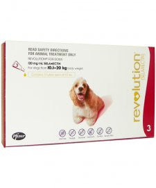 Revolution - Flea & Heartworm Treatment For Dog 10 - 20kg