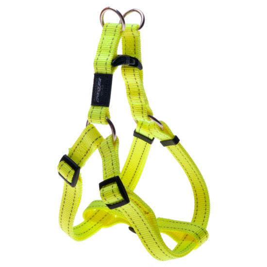Rogz-Step-in- Utility with Reflective Stitching - Dayglo - Various Sizes-Canine