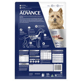 Advance Adult Dog Total Wellbeing Toy Small Breed Dry Food - Lamb & Rice