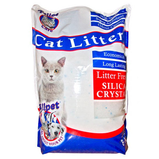 Allpet Litter Fresh Silica Crystals Cat Litter