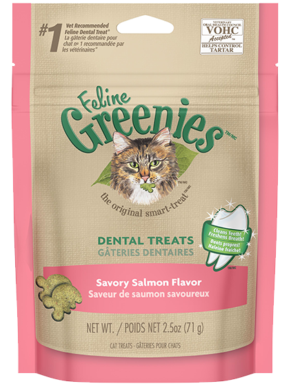 Greenies™ Feline Treat Savoury Salmon - 71g