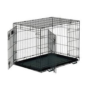 Flat Roof Wooden Dog Kennel