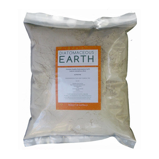 Diatomaceous Earth - No-Grit Superfine Food Grade