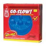 Dogit® Go Slow Anti-Gulping Dog Dish
