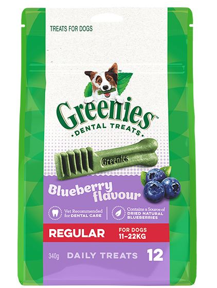 Greenies™ Dental Chews Blueberry - 340g