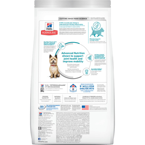 Hills Science Diet Adult Dog Dry Food - Healthy Mobility Small Bites