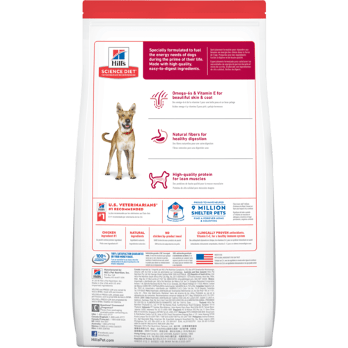 Hills Science Diet - Adult Dog - Dry Food - Chicken & Barley