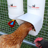 Royal Rooster Poultry Drinker/Feeder Set - With Rain Cover