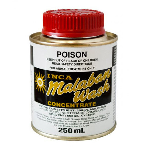 Inca - Malaban Wash Flea, Lice & Tick Treatment