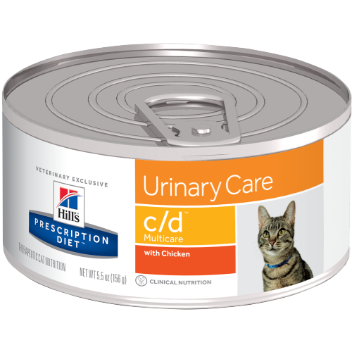 Hill's™ Prescription Diet™ c/d™ Multicare Stress Feline with Chicken and Vegetable Stew  - Canned