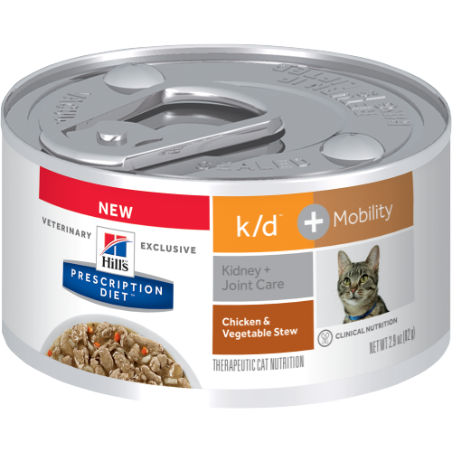 Hill's™ Prescription Diet™ k/d + Mobility Feline with Chicken and Veg - Cat Canned