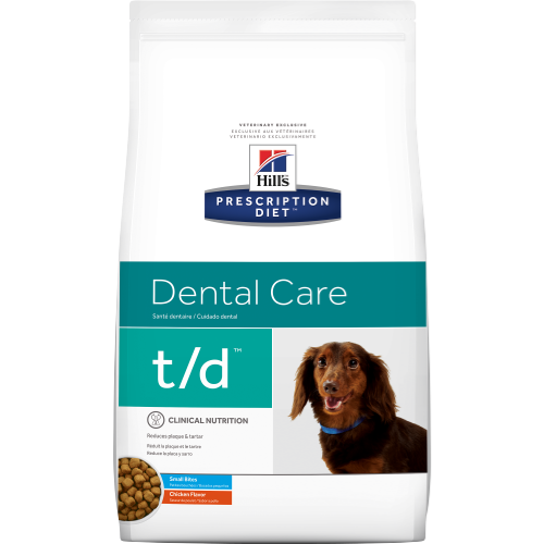 Hill's™ Prescription Diet™ t/d™ Canine Small Bites Dog - Dry