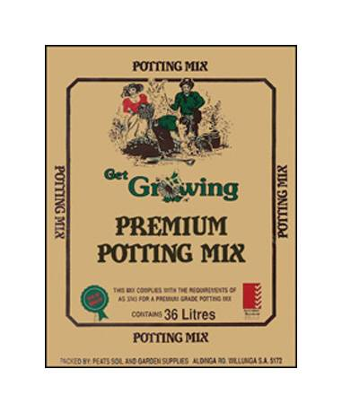 Peats Premium Get Growing Potting Mix