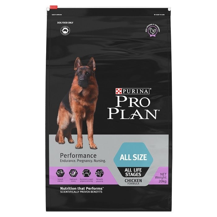 Pro Plan Adult Dog Dry Food - Performance Formula Chicken