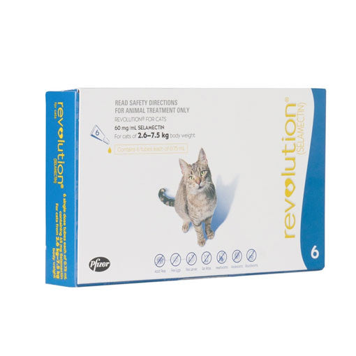 Revolution - Flea & Heartworm Treatment For Cats