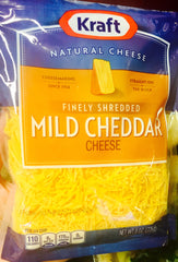 Kraft mild shredded cheese
