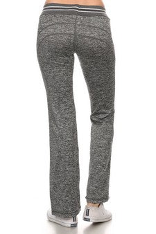 Charcoal Full Length Yoga Pants