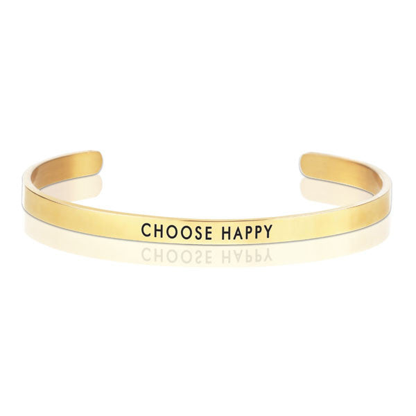 Choose Happy Message Band