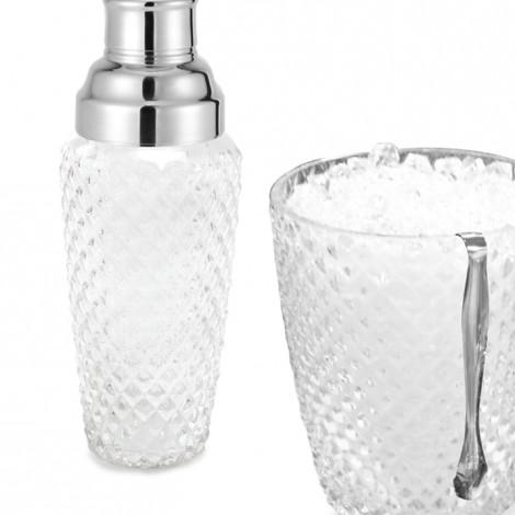 Cocktail Shaker & Ice Bucket Set