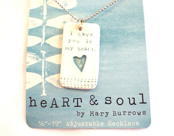 Necklace-I have you in my heart
