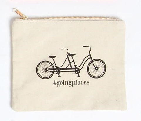 Going Places Bicycle Pouch