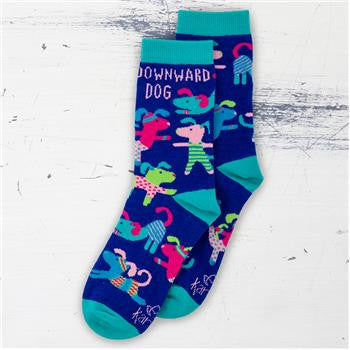 Downward Dog Socks