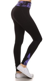 Tie Dye Active Sport Leggings