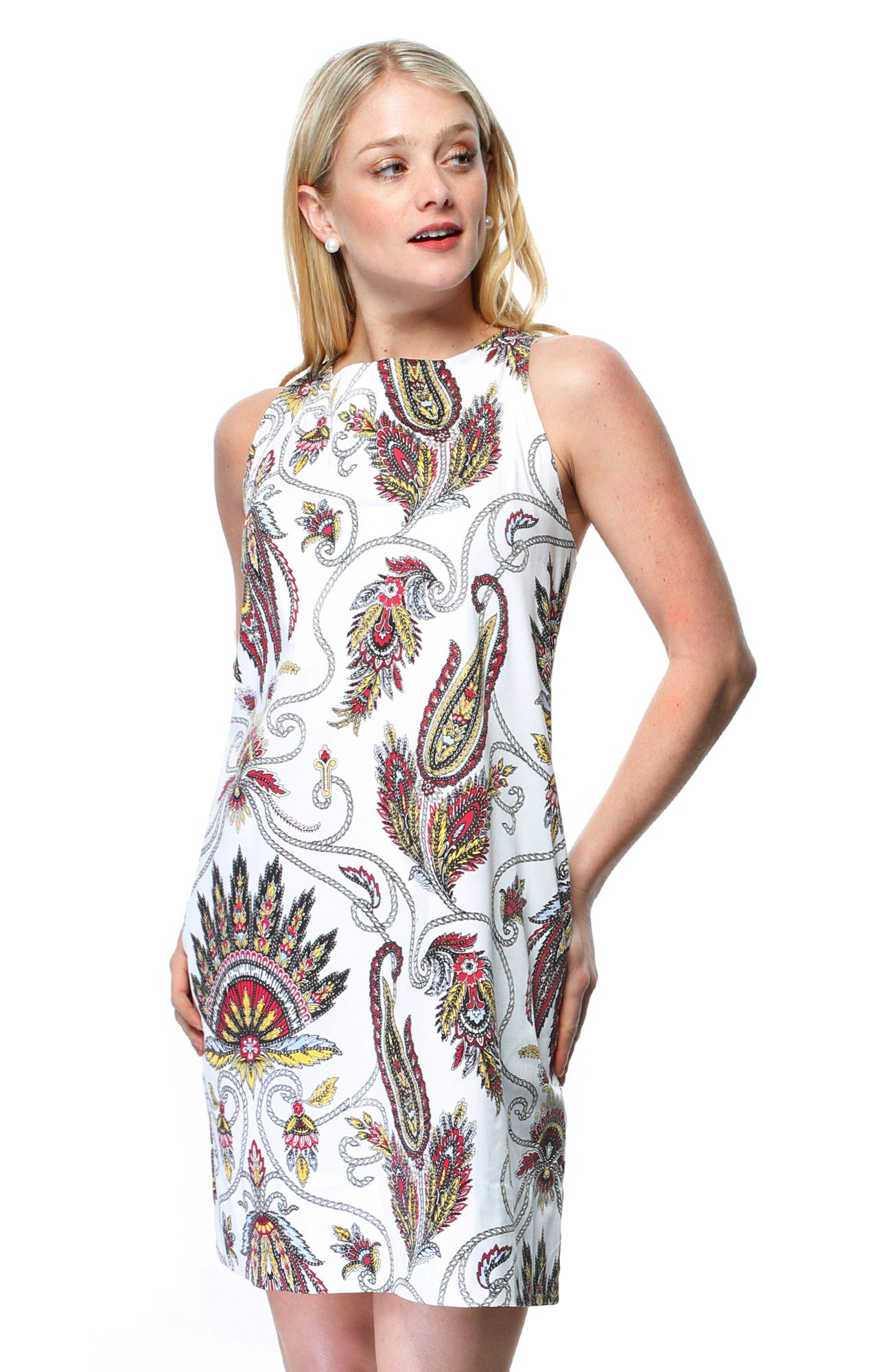 Mod Squad Plume Dress - 1 Only