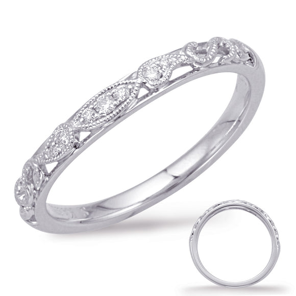 round rings wedding shane bands with set anniversary channel edge p stone milgrain band diamond co m