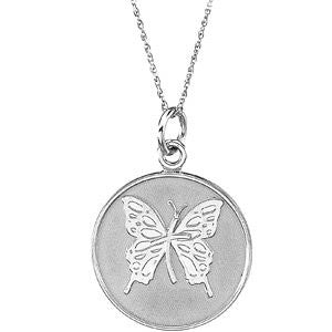 Sterling Silver 925 Comfort Wear JewelryTM - Loss of a Mother Pendant with Chain