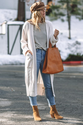 Luxury Cozy Chunky Duster
